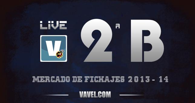 Mercado de fichajes de fútbol de Segunda División B grupo 2 2013-2014