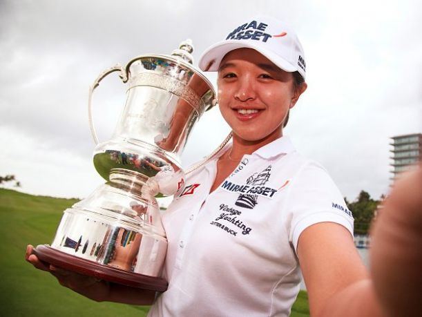 Sei Young Kim Birdies Last; Survives Blue Bay LPGA