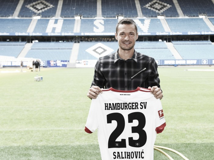 Experiente, Hamburgo anuncia contratação do meia bósnio Sejad Salihovic