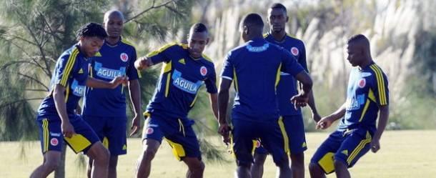 La Selección Colombia cumplió su tercer día de entrenamientos en Barcelona