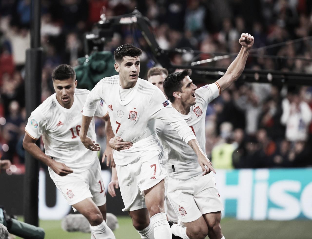 Italia-España: puntuaciones de España en la semifinal de la Eurocopa 2021