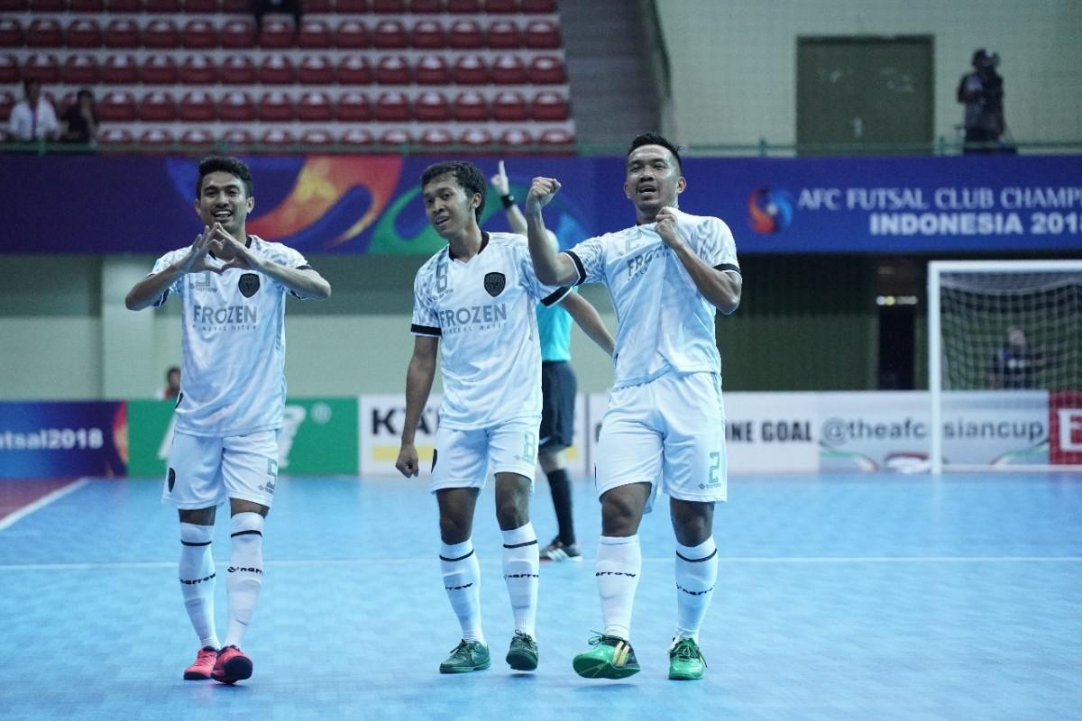 Vamos Mataram Berjaya di Laga Perdana AFC Futsal Club