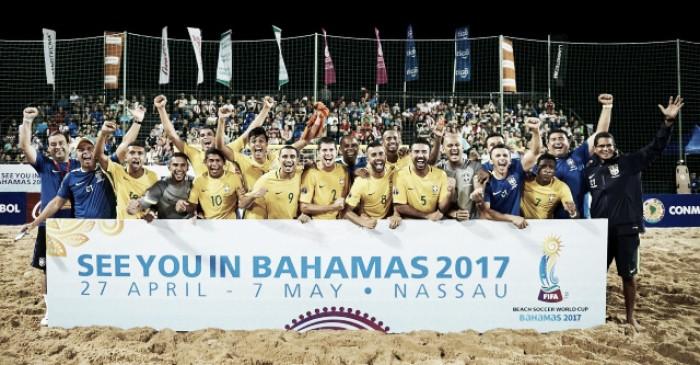 Revelação do beach soccer, Rodrigo confessa desejo de conquistar Copa do Mundo