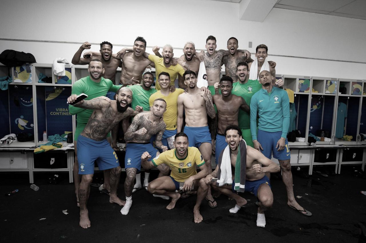 """Casemiro elogia postura da Seleção após virada heroica: """"Mentalmente forte"""""""