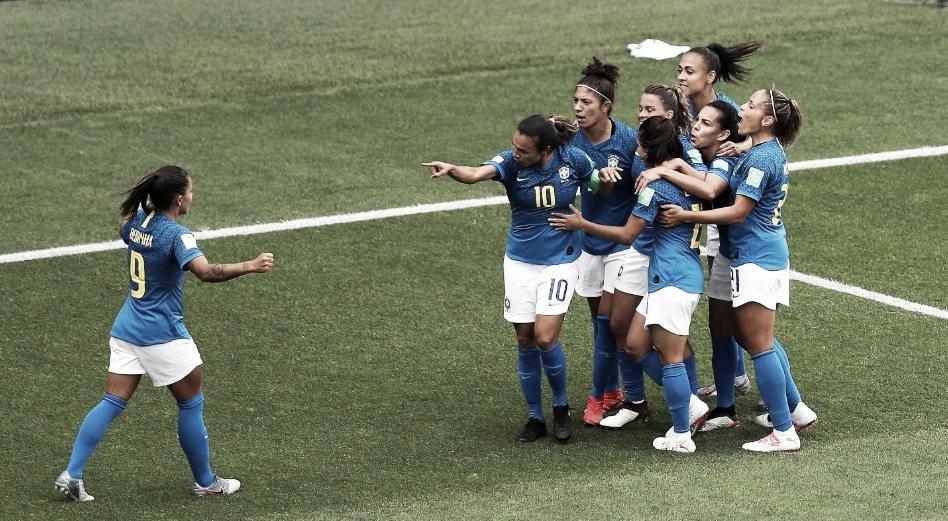 Resultado Itália 0 x 1 Brasil na Copa do Mundo Feminina 2019
