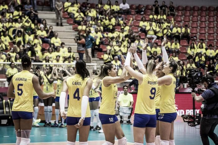 Seleção Feminina estreia com vitória na etapa de Cuiabá do Grand Prix