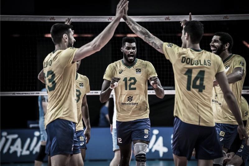 Na terceira semana da Liga das Nações, meninos do Brasil encaram a Holanda