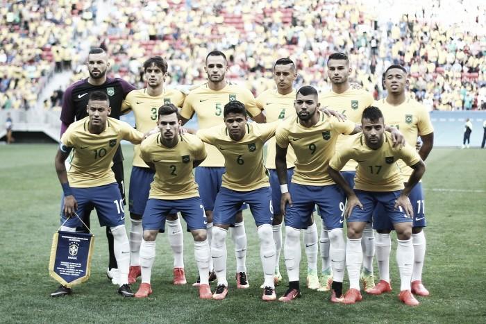 Com o sonho do ouro em jogo, Brasil encara a Dinamarca na Fonte Nova