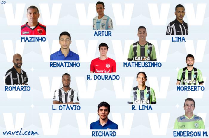 Seleção VAVEL da Série B do Campeonato Brasileiro 2017