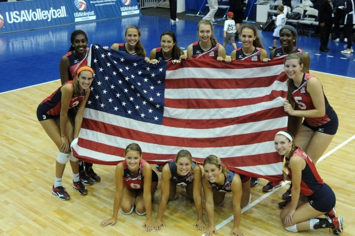 Rumo à Olimpíada: Seleção feminina de Vôlei dos Estados Unidos