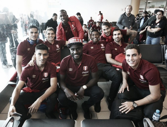 Selección Peruana ya se encuentra en Trujillo para enfrentar a Paraguay