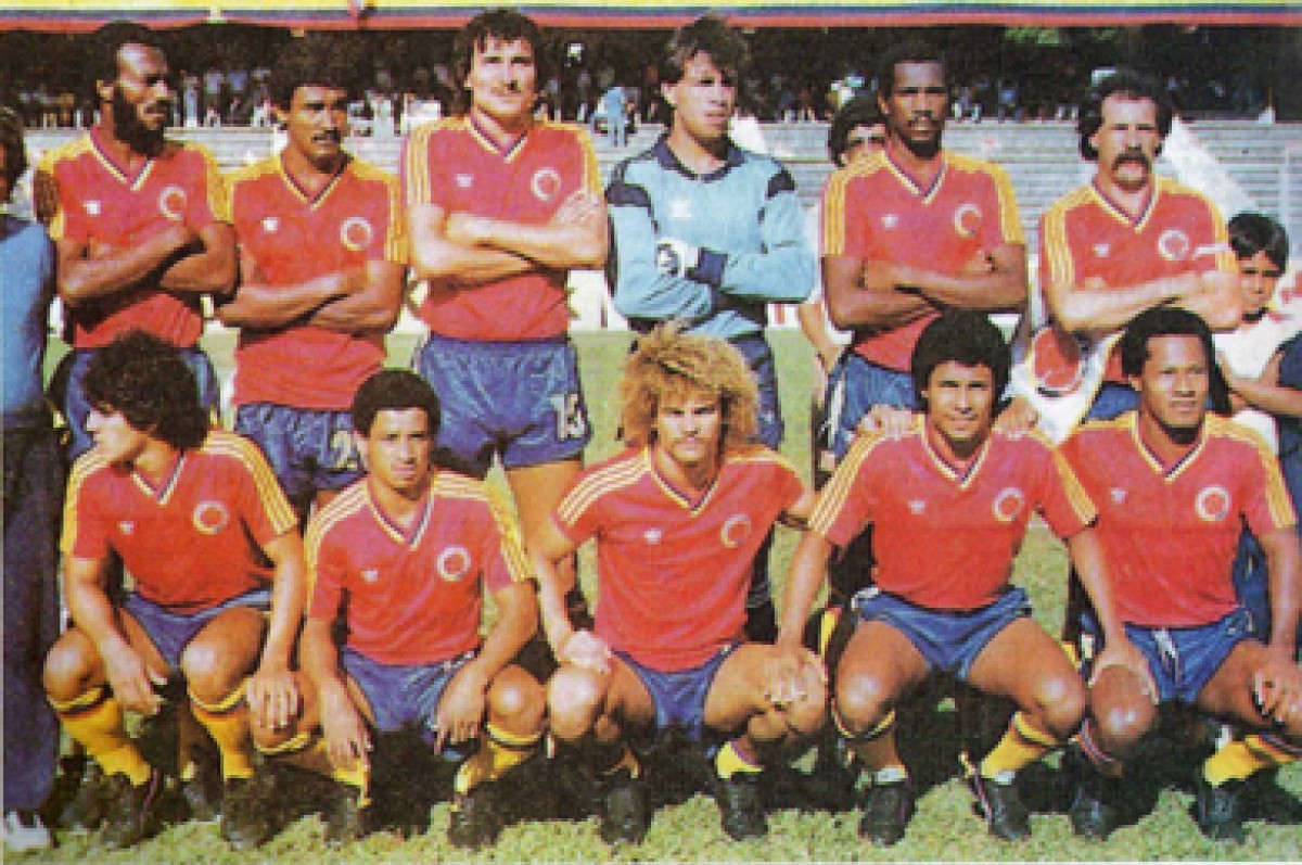 Febrero 14 de 1985: Colombia vs. Polonia