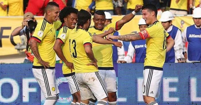 Definidos los convocados de la Selección Colombia
