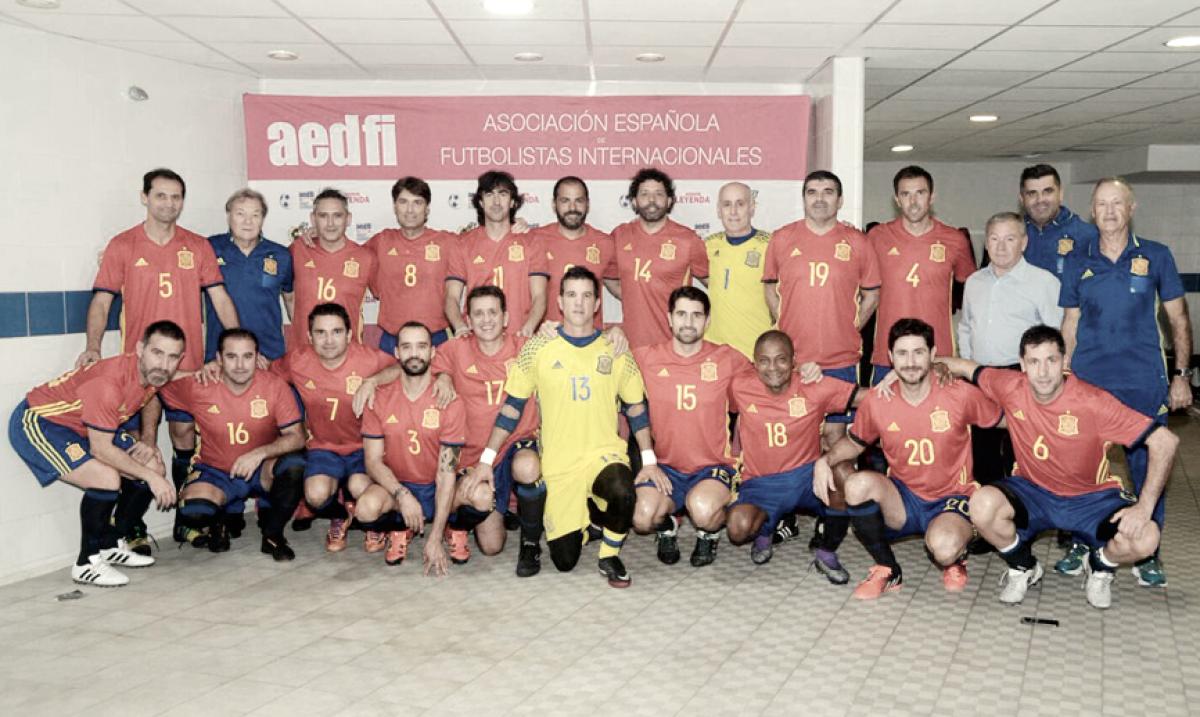 La selección española de Leyendas disputará un nuevo encuentro en Pulpí