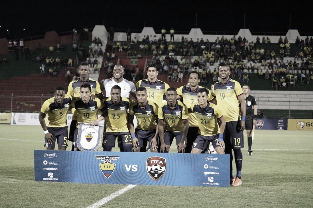 Así llega la Selección de Ecuador al amistoso frente a Colombia