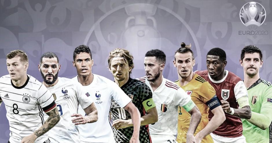 Madridistas en los octavos de la Eurocopa