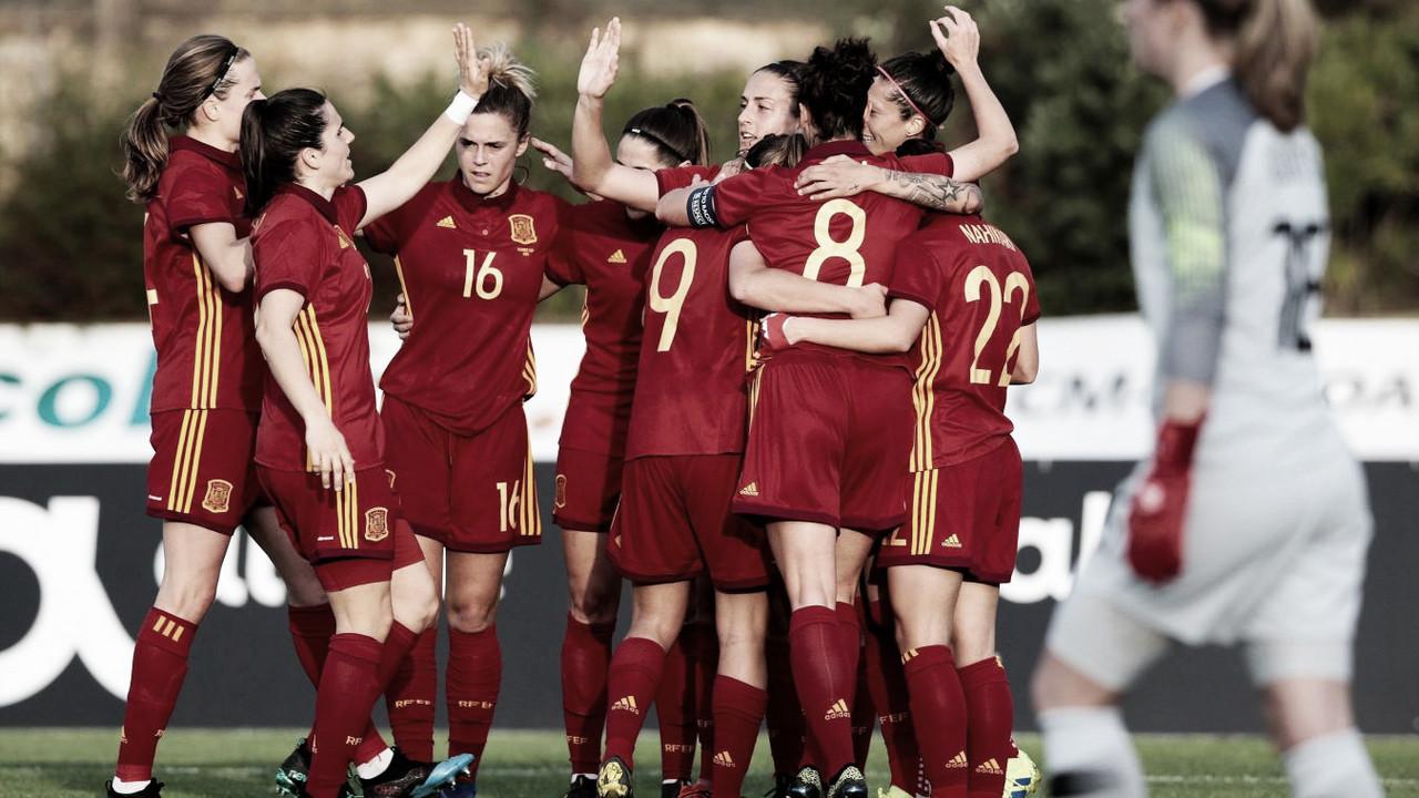 Debut inmejorable de España en la Algarve Cup