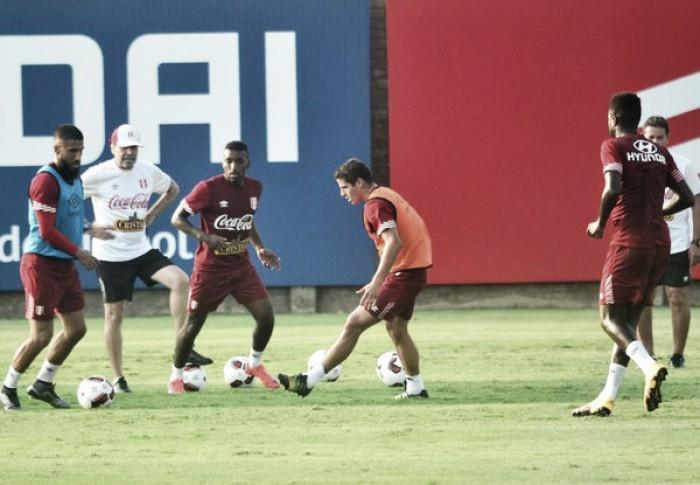 Selección Peruana ya entrena pensando en Venezuela y Uruguay