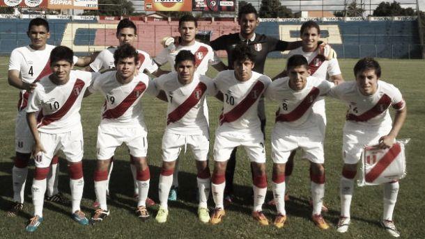 Lista definitiva de Perú para el Sudamericano Sub 20