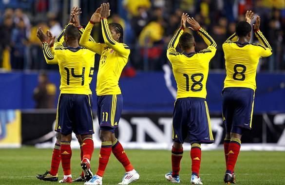 Lista parcial de convocados para la Selección Colombia de mayores