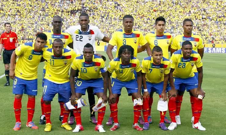 Horarios confirmados para Ecuador en las eliminatorias
