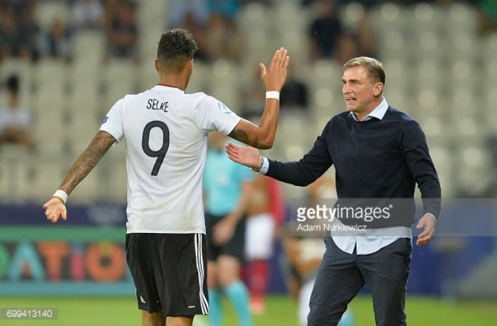 Germany U21 3-0 Denmark U21: Selke stars as Germany top the group
