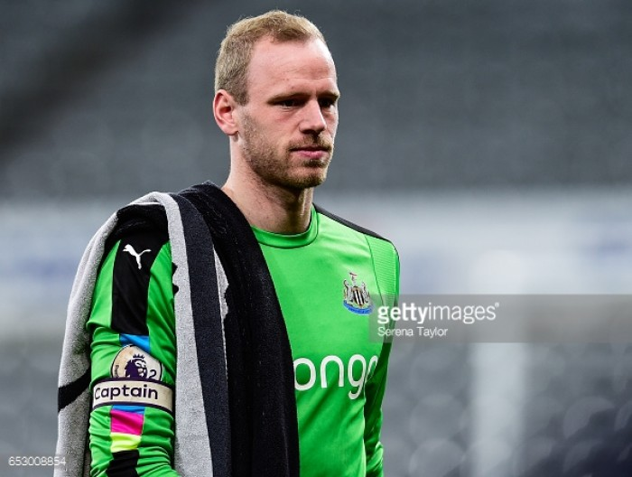 Anderlecht ready to offer Matz Sels an escape route from Newcastle United