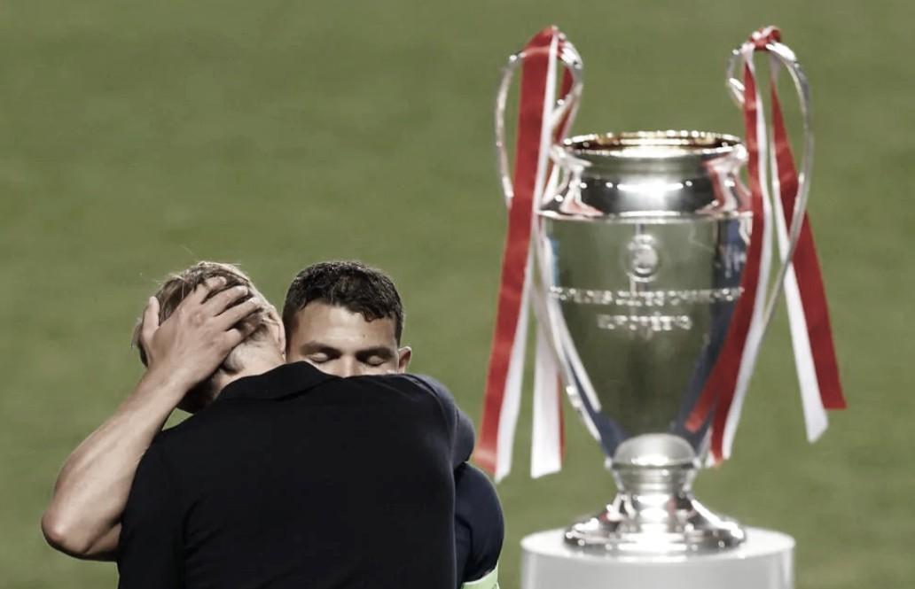 Zagueiro Thiago Silva acerta com Chelsea por uma temporada