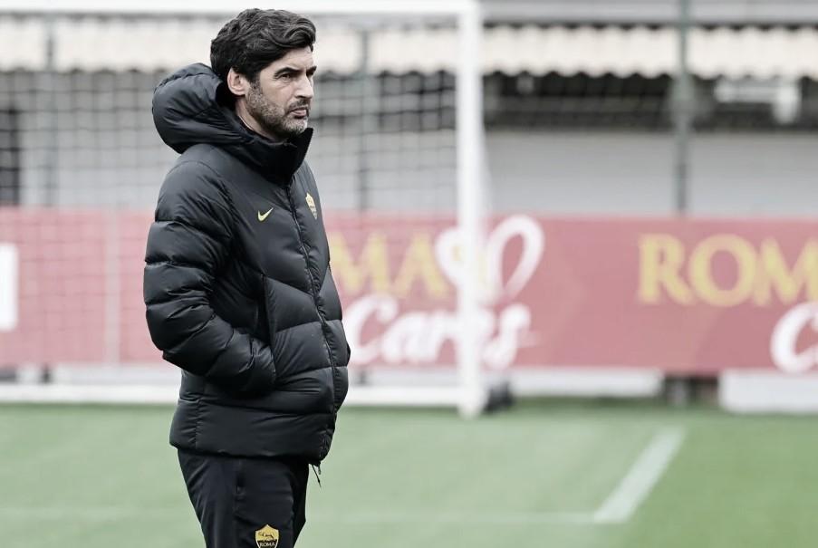 Após goleada e rumores de demissão, técnico Paulo Fonseca deve seguir na Roma até fim da temporada