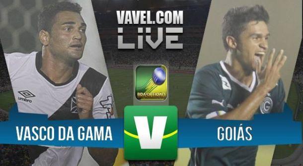 Resultado de Vasco x Goiás pelo Campeonato Brasileiro 2015 (0-0)