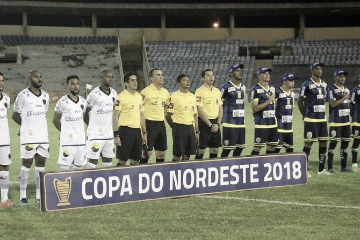 Em jogo sem gols, Altos e Botafogo-PB ficam no empate pela Copa do Nordeste