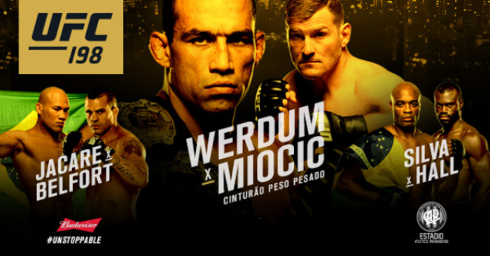 Resultado Fabrício Werdum - Miocic no UFC 198 Brasil