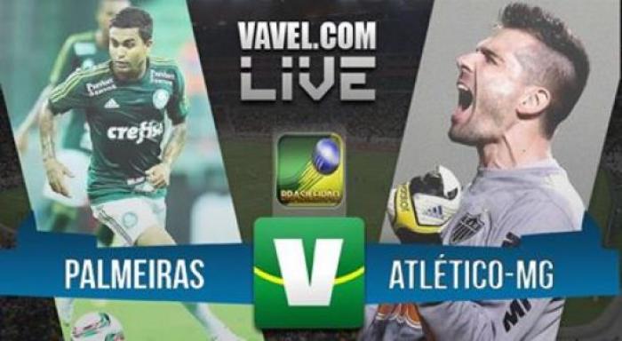 Resultado Palmeiras x Atlético-MG pelo Campeonato Brasileiro 2016 (0-1)