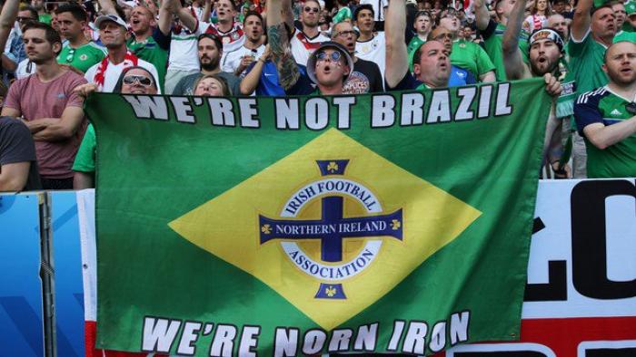 """No mesmo grupo da Alemanha na Eurocopa, Irlanda do Norte avisa: """"Não somos o Brasil"""""""