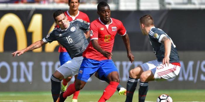 Costa Rica e Paraguai ficam no empate sem gols em jogo fraco tecnicamente