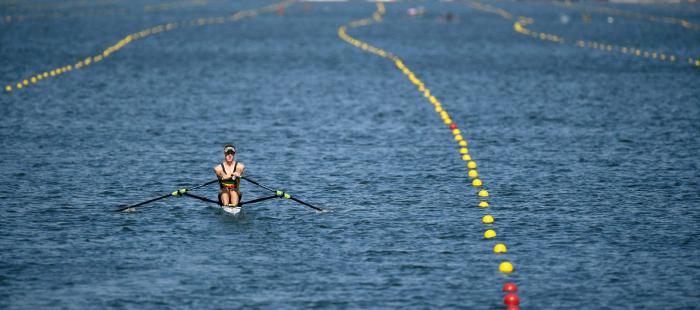 Ventos fortes forçam organização a adiar provas do remo na Rio 2016