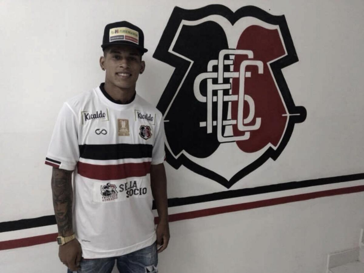 Para reforçar Lateral-direita, Santa Cruz contrata Maílton, ex-Palmeiras