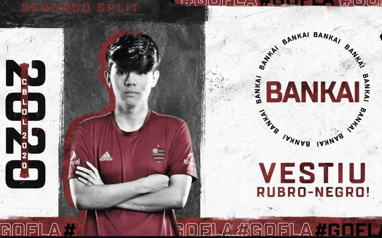 Felipe Bankai é contratado pelo Flamengo para sequência do CBLoL