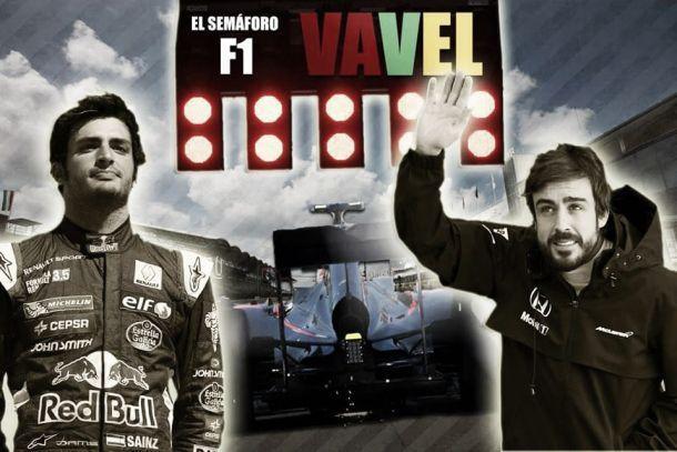 El semáforo de F1 VAVEL. Gran Premio de Bélgica 2015