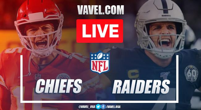 Highlights and Touchdowns: Kansas City Chiefs 35 - 31 Las Vegas Raiders on 2020 NFL Week 11