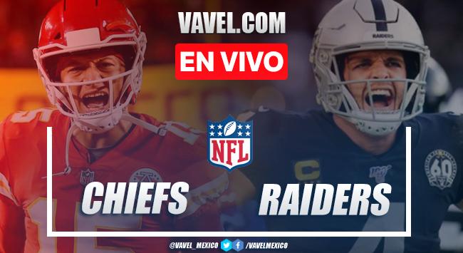 Resumen y Touchdowns: Kansas City Chiefs 35 - 31 Las Vegas Raiders en NFL 2020 Semana 11