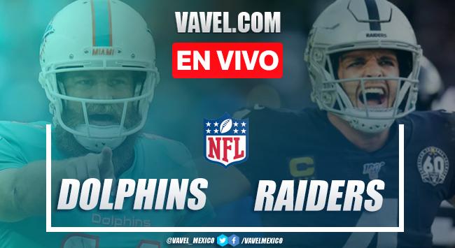 Resumen y Touchdowns: Miami Dolphins 26 - 25 Las Vegas Raiders en la Semana 16 de la NFL