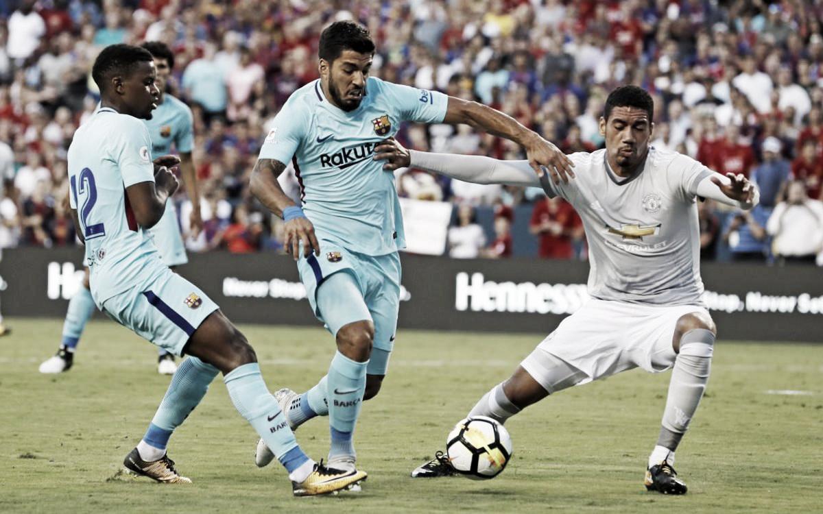 El Manchester United, rival del FC Barcelona en Champions