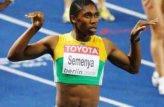 ¿Es Semenya hermafrodita?
