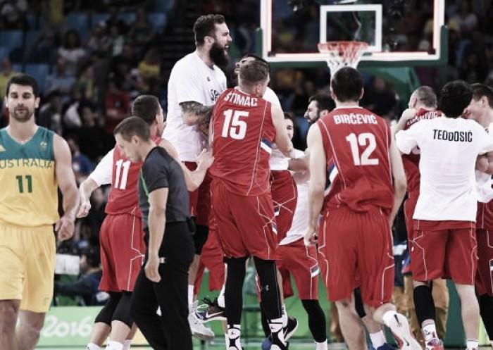 La historia ganó: Serbia a la final