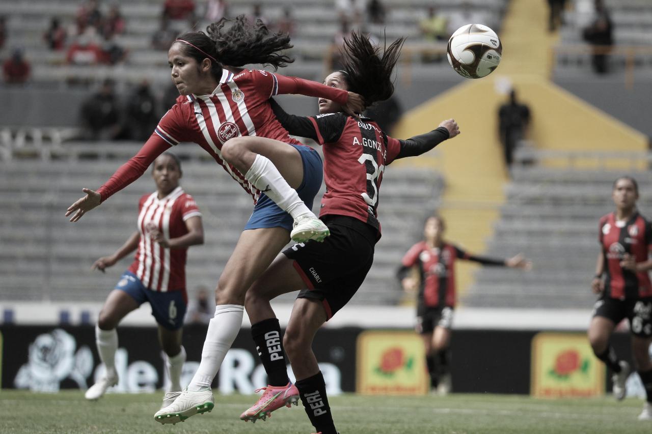 Entretenido empate a cero en el Clásico Tapatío Femenil