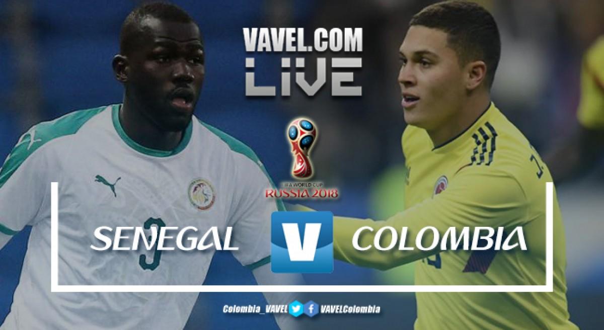Resumen Senegal (0-1) Colombia en Mundial Rusia 2018