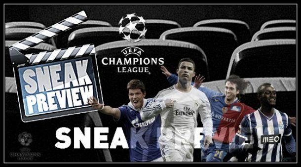UEFA Champions League: «sneak preview» dos oitavos-de-final