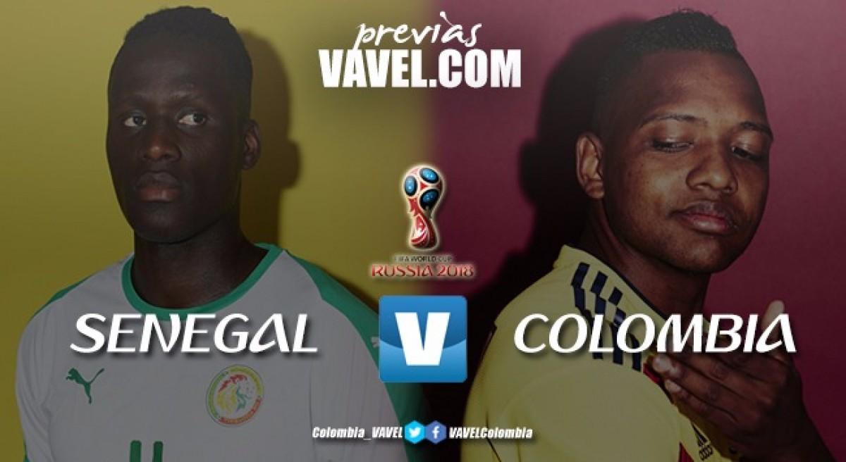 Previa Senegal - Colombia: un cupo en juego