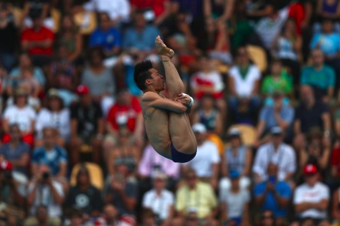 Rio 2016, Tuffi - Finale maschile piattaforma10 mt - Chen si veste d'oro. Qiu - Auffrey fuori dal podio